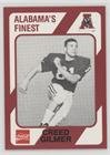 Creed Gilmer (Football Card) 1989 Collegiate Collection Alabama Crimson Tide - [Base] #106