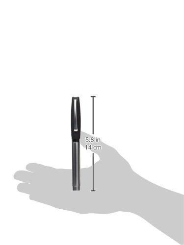 Faber-Castell Basic Metal Fountain Pen (Black Cap, Fine) Photo #2
