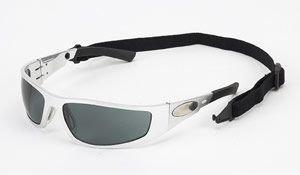 Body Specs Looper Sunglasses Aluminum Chrome Metal Frame with Smoke - Body Specs Sunglasses