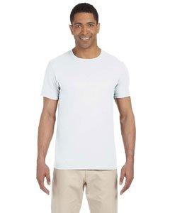 By Gildan Adult Softstyle 45 Oz T-Shirt - White - XS - (Style # G640 - Original Label)