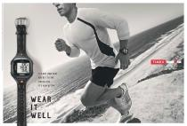 Timex Ironman Run Trainer 2.0 Wear It Well ad