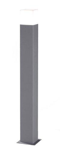 Trio Lighting Trio Hudson Tall LED Post, Metal, E14, 4 W, Light Grey