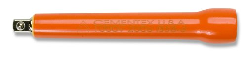 Cementex Ib38-6 Insulated 3/8 Inch Drive Extension Bar 6 Inch by Cementex