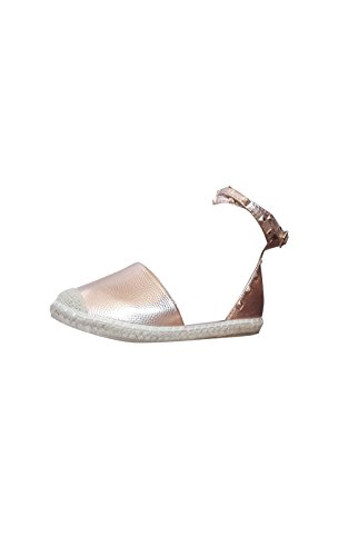 Espadrilles Gold Ikrush Studded Rose Womens Giovanni Pw0qBS