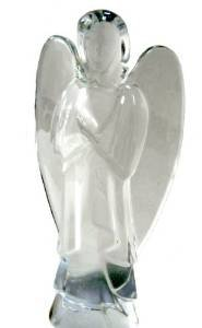 - BACCARAT Crystal Nativity Standing Angel - Retired