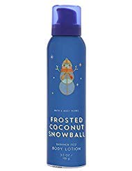 (Bath and Body Works FROSTED COCONUT SNOWBALL Shimmer Fizz Body Lotion 3.5 Ounce)