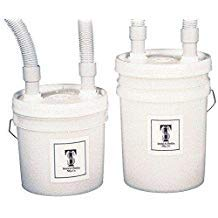 KEYSTONE Disposable Plaster Traps 3.5 Gal + Hoses - Transluc 034-7000365 Us Dental Depot