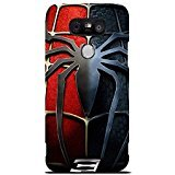 LG G5 Case Cover,Classical Spider Logo Design 3D Comic Spiderman Phone Case Cover for LG G5 Hot Superhero