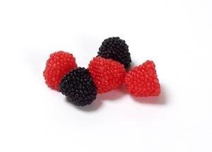The Original Raspberries and Blackberries - 5 lb. (Blackberry And Raspberry Candy)