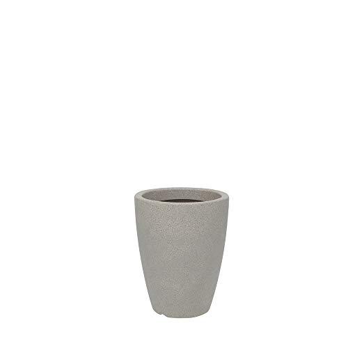 Vaso Malta Cone 30 X 40 cm Vasart Pedra Granito