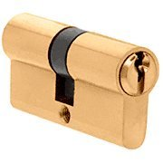 EC5BR - CRL Polished Brass Extended Length Keyed (Profile Polished Brass)