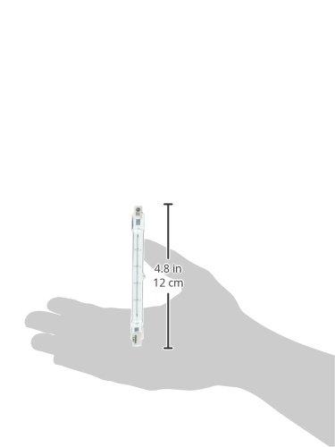 GE Lighting 24931 Proline500 Halogen T3 130V 500-Watt Light Bulb, 6-Pack by GE Lighting (Image #1)