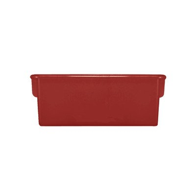 - Creative Colors  10000RD Plastic Cubbie Storage Tray, Red