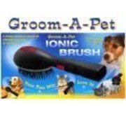 (Groom-A-Pet Ionic Pet Brush)