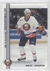Eric Cairns (Hockey Card) 2000-01 In the Game Be A Player Memorabilia - [Base] - In Shops Cairns
