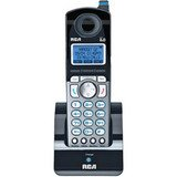RCA DECT 6.0 2-Line Accessory Cordless Handset for 25210RE1 and 25250RE1, Office Central