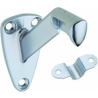 National Hardware N274-258 V112 Handrail Bracket in Satin Chrome Chrome Handrail Bracket