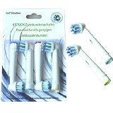 4pcs Premium calidad Cruz Acción EB50 cabezales para cepillo de dientes eléctrico para Braun/Oral