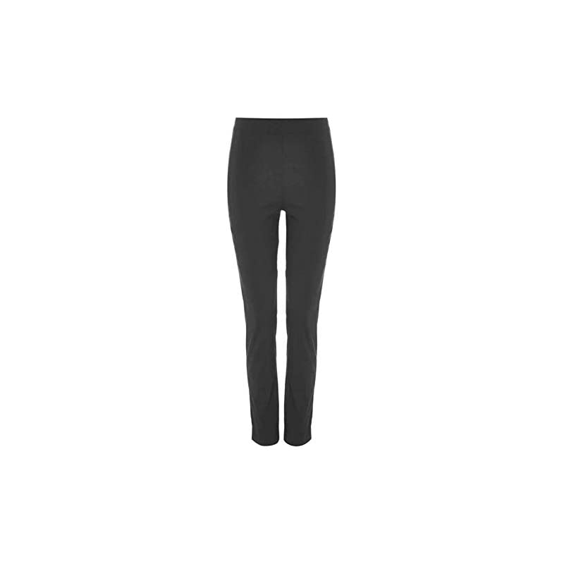 Roman Originals Women Stretchy Trousers – Ladies Bengaline Pull On Leggings Smart Treggings Fitted Tailored Tapered…