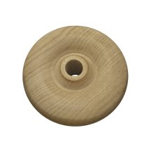 500 Pcs, 2-1/4'' X 5/8'' Wood Toy Wheels Hole Size 3/8'' For 3/8'' Holes Recommend Using Ap3000, Ap3030, Ap3500 Axle Pegs Or 3/8'' Dowel