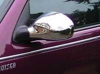 Avanzato PT Cruiser Right Hand Drive Chrome Mirror Covers 2001, 2002, 2003, 2004, 2005 Cruiser Chrome Mirror Covers