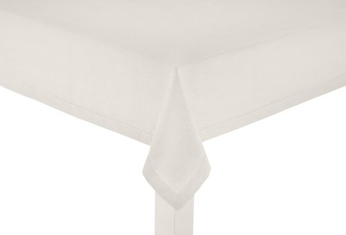 100% Pure Linen Table Cloth - Ivory - 60x120 Inches. Hand Crafted and Hand Stitched table linens are lovingly hand woven by skilled artisans using centuries old weaving techniques - Other Sizes available - 60x60, 60x90 and 60x108 Inches also available - Each Item sold individually