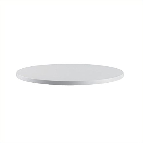 Safco Products 2651GR RSVP  30'' Round Table Top (Base sold separately), Gray