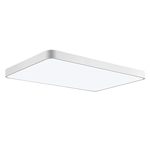 Viugreum LED Flush Mount Ceiling Light, 48W 2880 Lumens Square Panel Light, 6000K (Daylight White) Downlights Lighting Fixture for Kitchen, Hallway, Bathroom, Stairwell by Viugreum (Image #9)