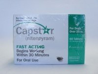Capstar For Dogs Over 25 lbs (60 Tablets) by Capstar