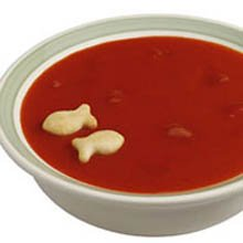 Campbells Ready To Serve Low Sodium Tomato Soup w/ Tomato Pieces - 50 oz. can, 12 per case by Campbell's