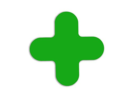 Floor Marking BMU Large 00X x Pieces Green (Pack of 20)