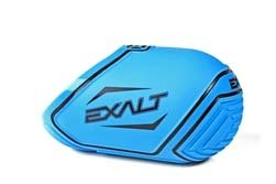 Exalt Carbon Fiber Tank Cover-Fits 68ci, 70ci, 72ci Paintball Tank- Cyan / Black by Exalt