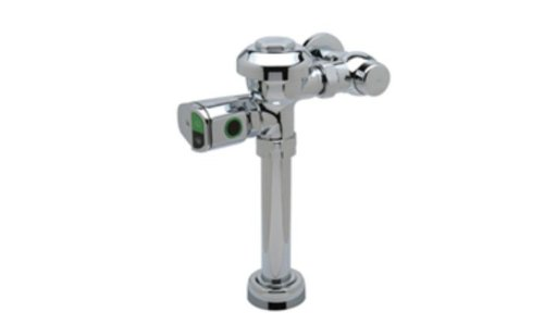 Zurn ZR6000AV-WS1-DF Sensor Operated Battery Powered Flush Valves For Water Closets With Dual Flush