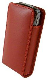 Beyza Uni/SR-VS1 Series Red Premium Leather case for The BlackBerry Pearl/Nokia 8800 Sirocco Blackberry 8800 Series Case