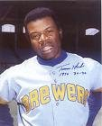 Signed Tommy Harper Photo - MILWAUKEE BREWERS 1970 30 30 8x10 - Autographed MLB Photos