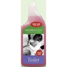 Naturally It's Clean Toilet Bowl Cleaner, 24 Ounce, All Natural Plant-Based Cleaner is Child and Pet Safe, Organic Enzyme Formula Cleans without Bleach or Chlorine by Naturally It's Clean (Image #1)