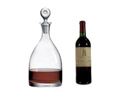Ravenscroft Crystal Monticello Double Magnum Decanter by Ravenscroft Crystal