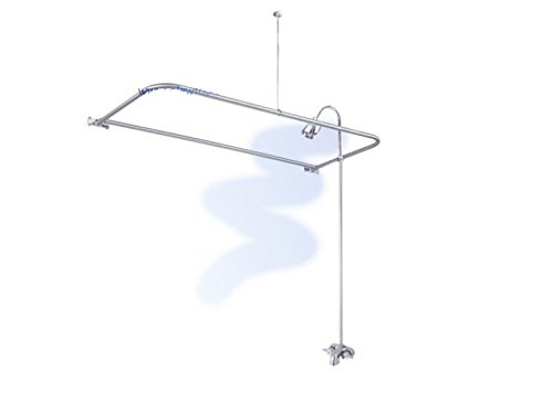 Clawfoot Tub Add A Shower With D Rod & Shower Head