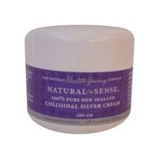 Natural Sense Colloidal Silver Cream