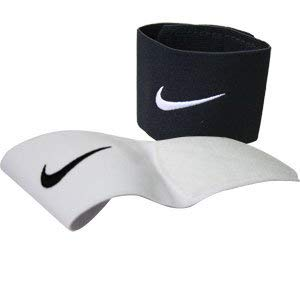 Nike Shin Guard Stays-1 Set Black & 1 Set White -
