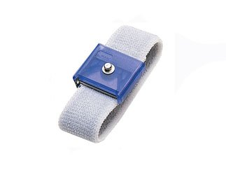 Jewel® Adjustable Wrist Strap w/ 4 MM Snap, Elastic