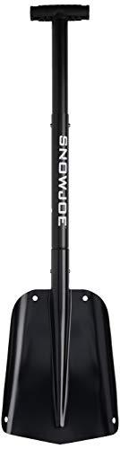 (Snow Joe ATJ401M-BLK Compact Utility Shovel | 32-Inch | Aluminum | 3-Piece Smart Lock)