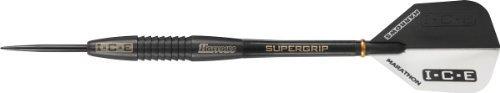 Harrows Black ICE 90% Tungsten Steel Tip Darts 25 Gram 51533