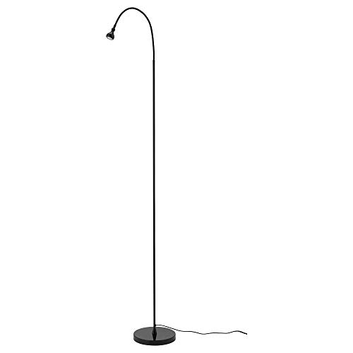 IKEA 903.859.13 Jansjö Led Floor Read Lamp, Black