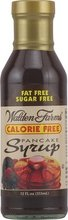 Walden Farms Calorie Free Pancake Syrup, 12 Fluid Ounce - 6 per case.