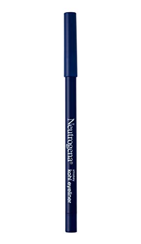Neutrogena Smokey Kohl Eyeliner with Antioxidant Vitamin E, Water-Resistant & Smooth-Gliding Eyeliner Makeup, Deep Navy, 0.014 oz