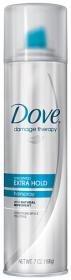Dove Unscented Extra Hold Aerosol Hair Spray 7 Oz.