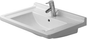 Duravit 03047000001 70 cm Starck 3 Furniture Wash Basin, White