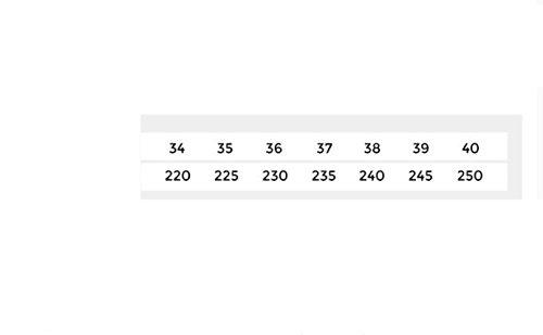 tacco Sandali Sandali Sandali da DHG estivi 37 Tacchi donna piatti alla a tacco casual moda con Rosa alti Pantofole basso basso 1w0Zdqr0