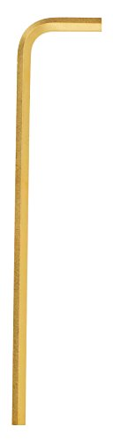 Bondhus 28106 7//64 Hex Tip Key L-Wrench with GoldGuard Finish 3.6 Pack of 50